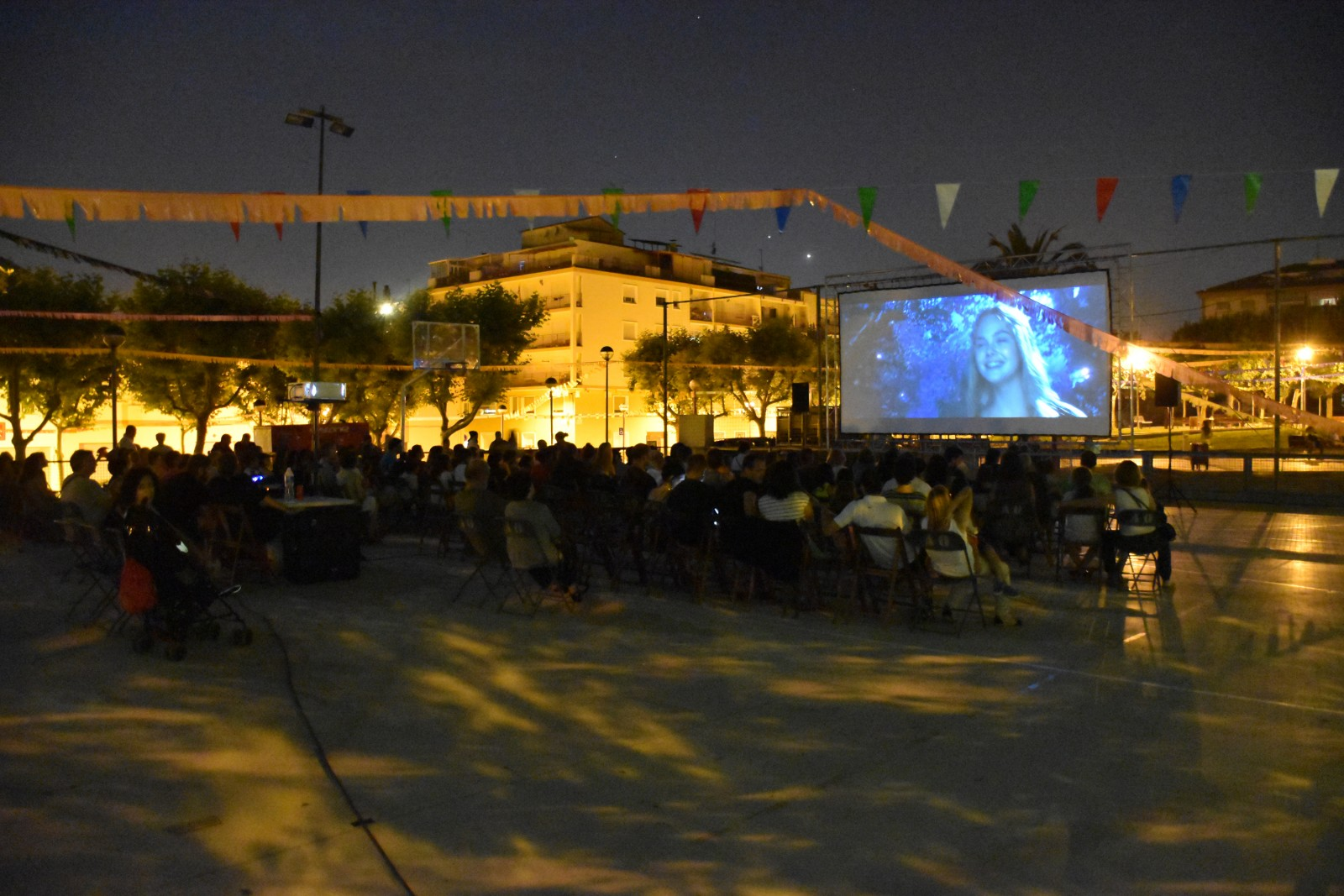Cycle de cinéma en plein air. Photo : Jordi López Guevara (Tot Olesa Imatges)