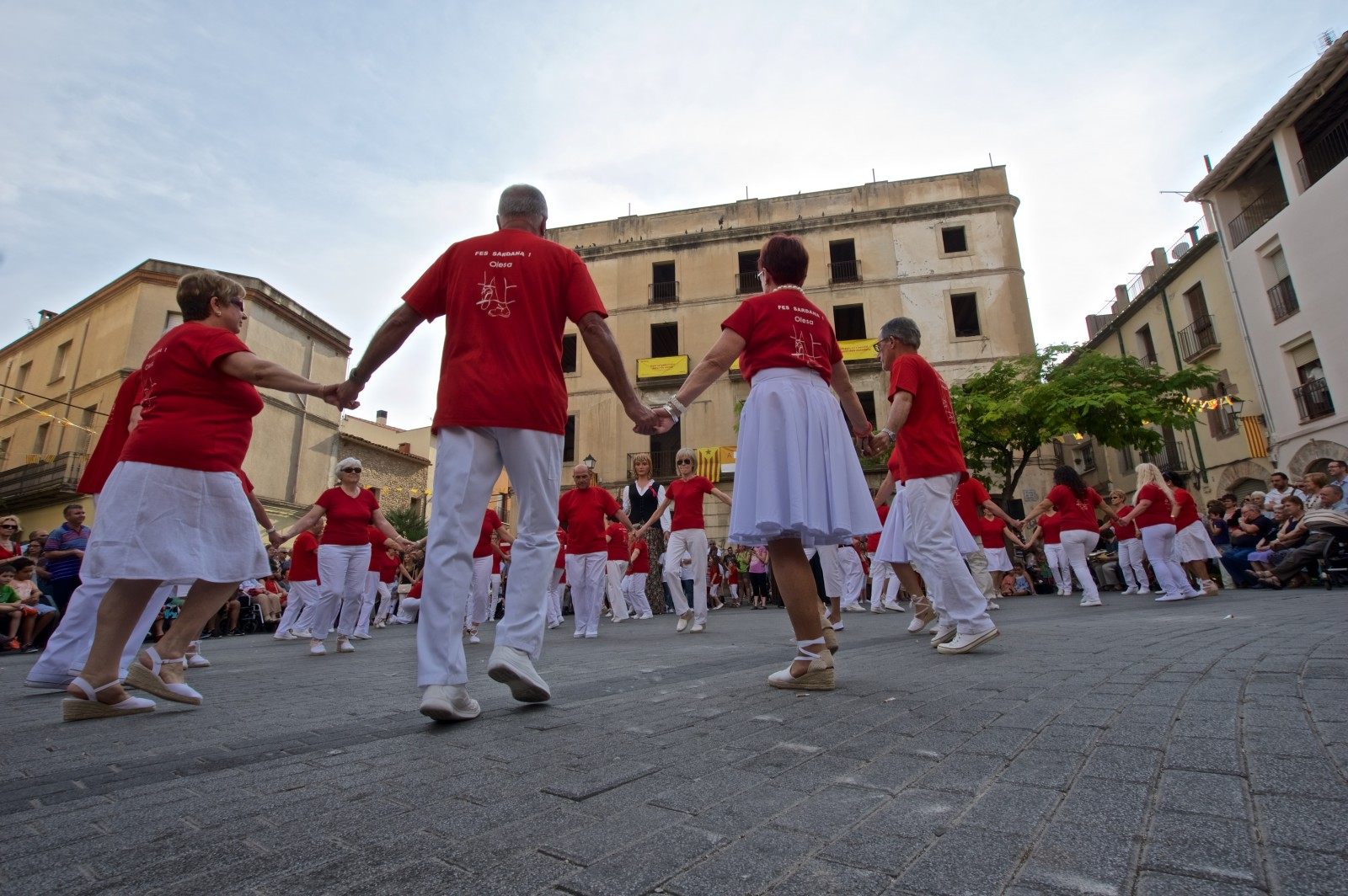 Sardana dance. Photo: Jaume Morera Barreda